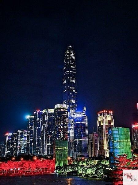 HUAWEI Mate 30 Pro Skyline Shenzhen