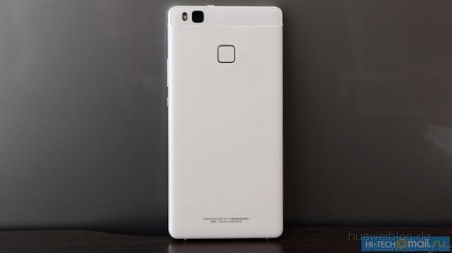 Huawei, P9 Lite, weiß, Rückseite, Kunststoff
