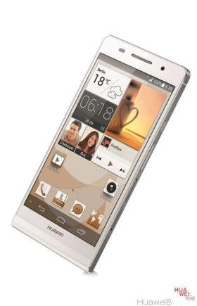 HUAWEI_Ascend_P6_white_front_dyn_2