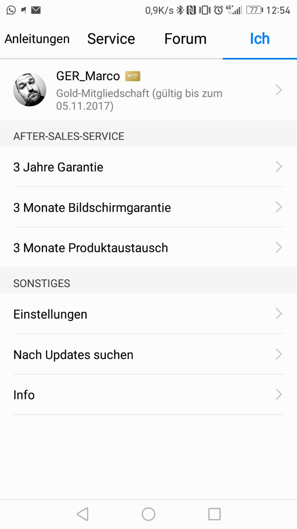 HiCare App AfterSalesService