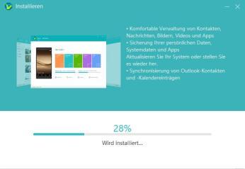HiSuite Install 2