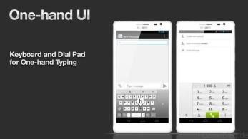 Huawei One Hand UI