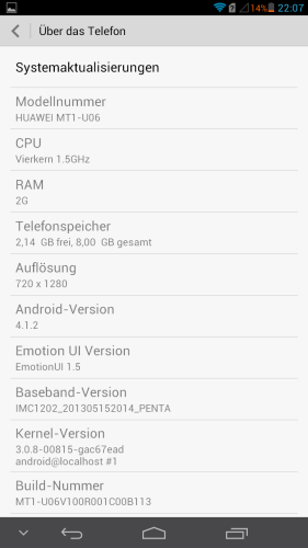 #RetroFreitag - Huawei Ascend Mate – Test / Testbericht / Review 3