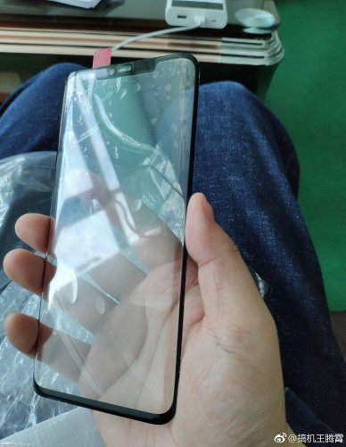 Huawei Mate 20 Pro Front Design Notch Leak
