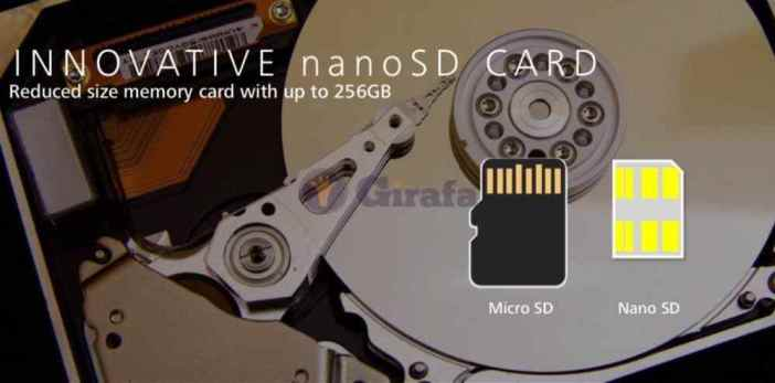 Huawei Mate 20 nanoSD