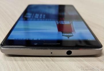Huawei Mate S Kopfhöreranschluss