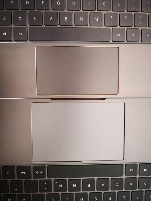 Huawei Matebook X Pro Test Touchpad
