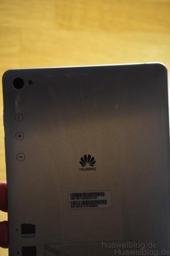 Huawei MediaPad M2 8.0 Rückseite oben