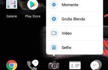 Huawei P smart Kontextmenü