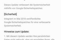 Huawei P smart Update Changelog
