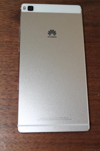 Huawei P8 - Rückseite - Mystic Champagne