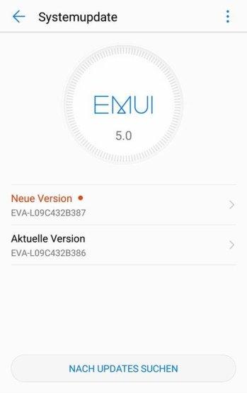 Huawei P9 Update B387