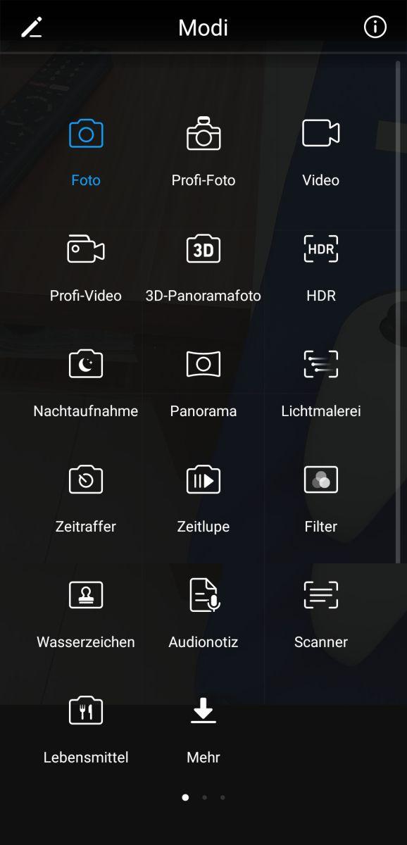 Huawei nova 2 Test Kamera Modi