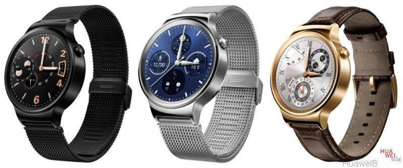 HuaweiWatch - drei Varianten