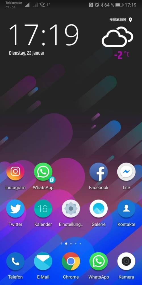 Huawei Wetter App deinstalliert! Was nun? 4