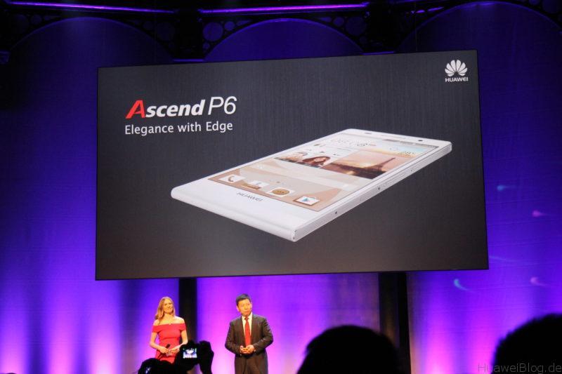 Ascend P6 Präsentation