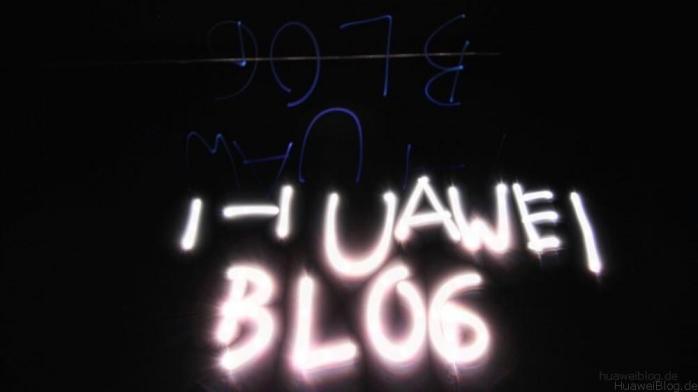 Huawei P8 - Kamera - Lichtmalerei - Licht Graffiti - Light painting