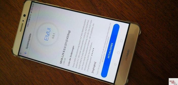 Huawei Mate 9 Oreo Beta Test gestartet