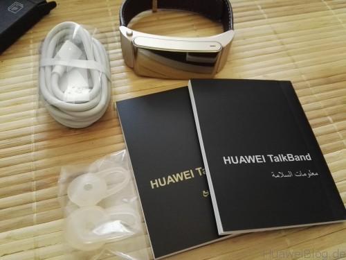 Talkband2-Paketinhalt