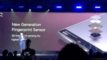 Huawei P9 Präsentation London - Neue Generation Fingerprint Sensor