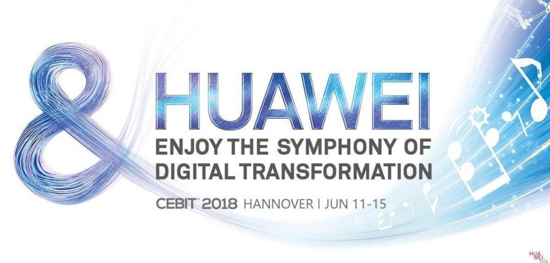 Huawei CEBIT 2018 Titelbild