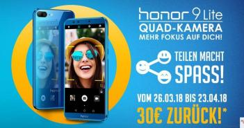 honor 9 Lite Cashback