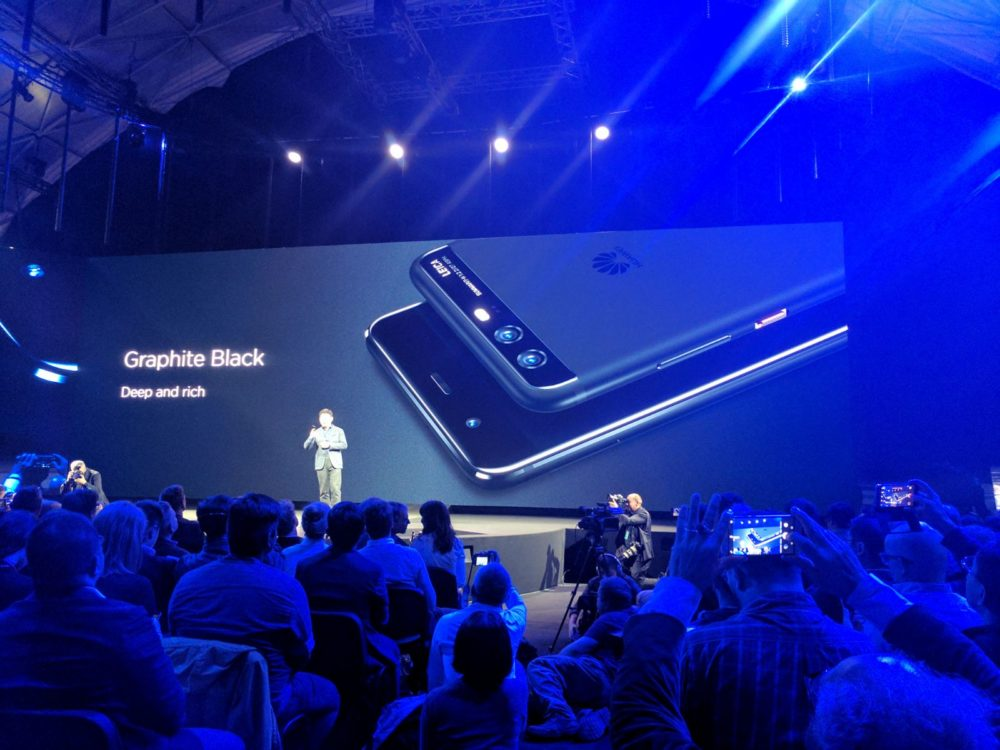 Huawei P10 / P10 Plus - graphite black