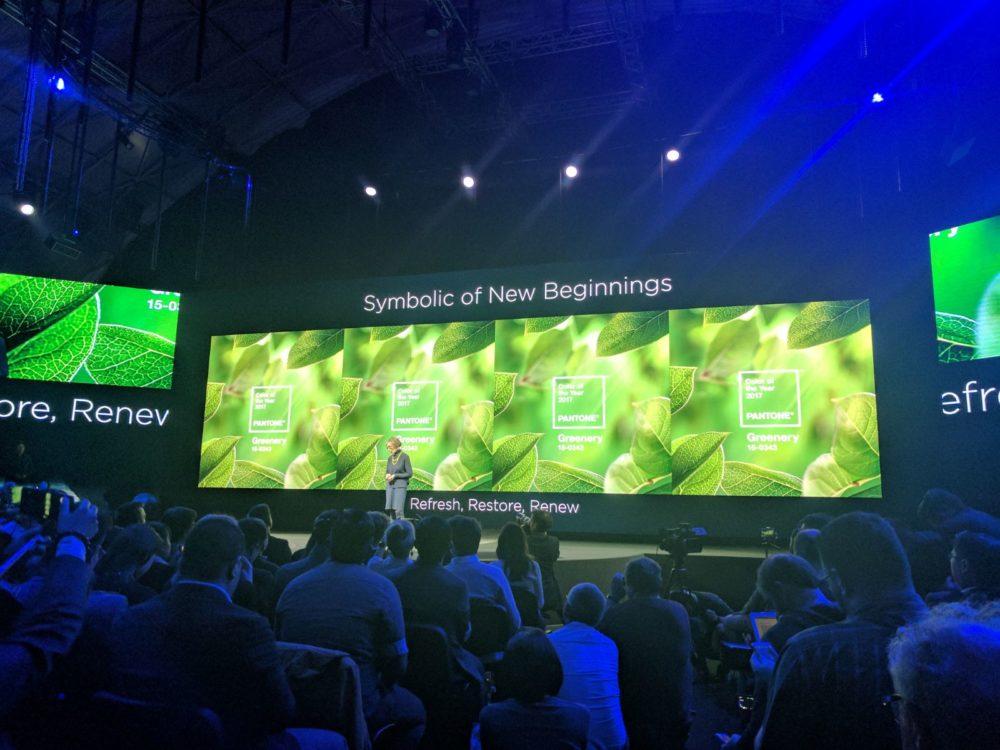 Huawei P10 Plus - grün
