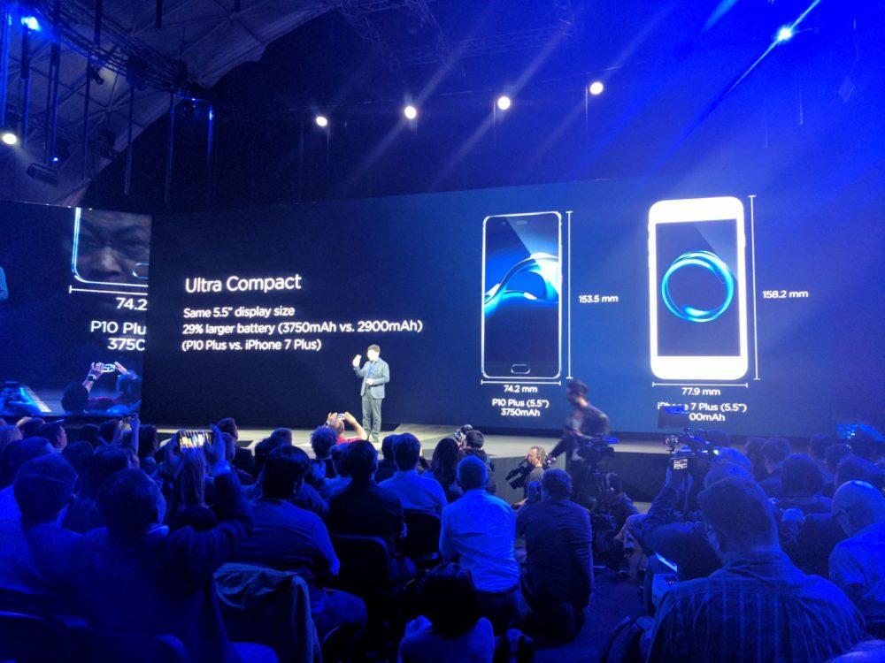 Huawei P10 Plus - 5,5 Display