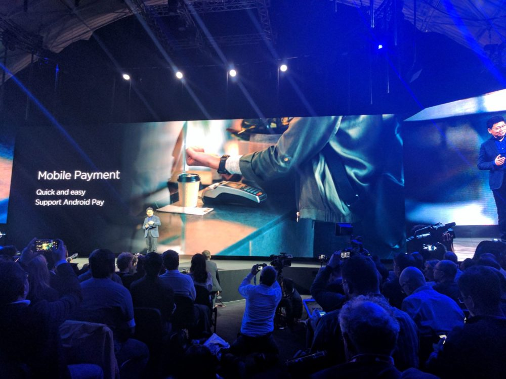 Mobile Payment - Huawei Watch 2