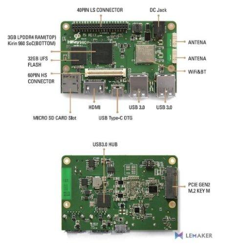 LeMaker HiKey 960 Hardware