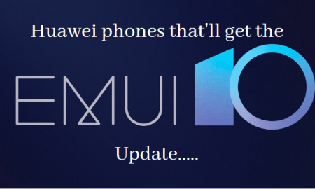 Huawei phones that'll get the EMUI 10 update