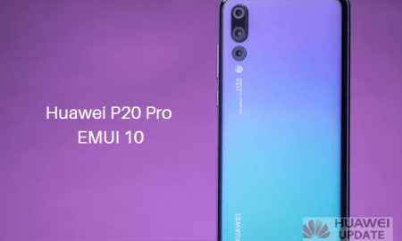 Huawei P20 Pro EMUI 10