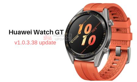 huawei watch gt 1.0.3.38