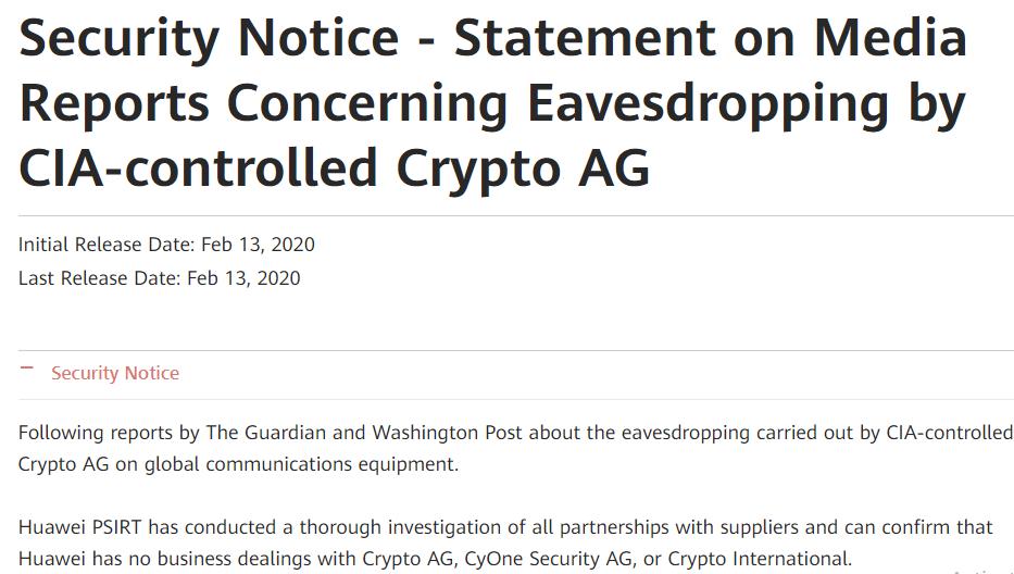 CIA-controlled Crypto AG