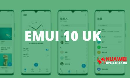 EMUI 10 UK Update
