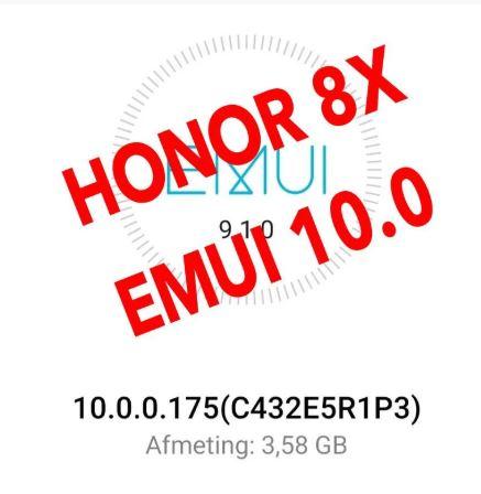 Honor 8X EMUI 10