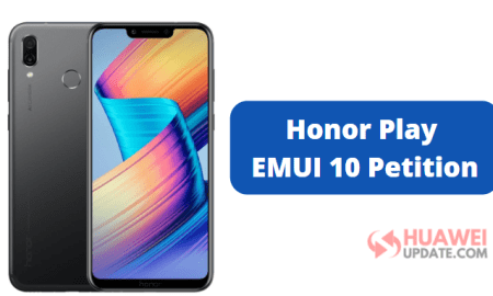 Honor Play EMUI 10 Petition