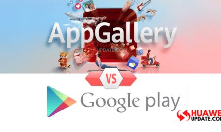 Huawei AppGallery vs Google Play Store