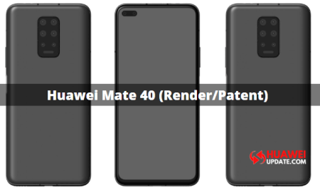 Huawei Mate 40 Patent