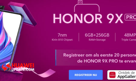 Honor 9X Pro Early Bird Program