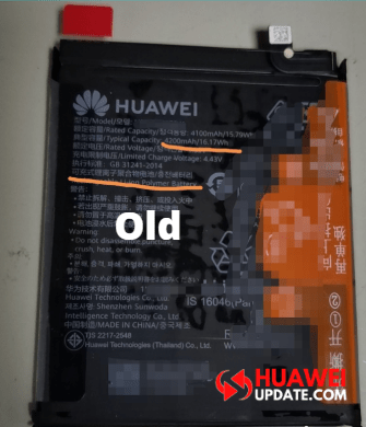 Huawei Old Battery