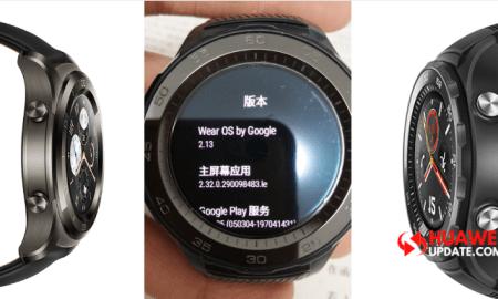 Huawei Watch 2 Update