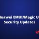 EMUI security patch update