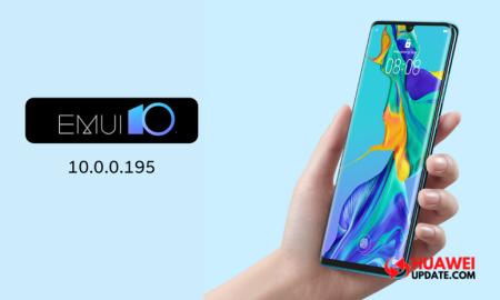 Huawei P30 series EMUI 10.0.0.195