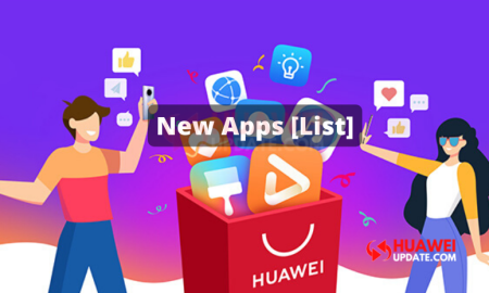 List of New Apps Available in the Huawei AppGallery
