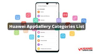 112 Huawei AppGallery Categories for App Listing