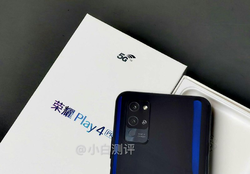 Honor Play 4 Pro Live Image leaked