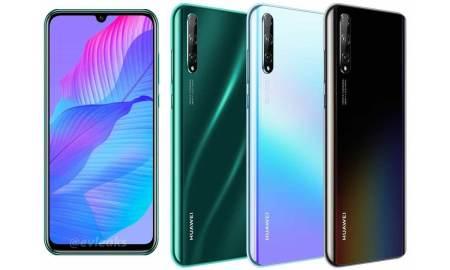 Huawei P Smart S render