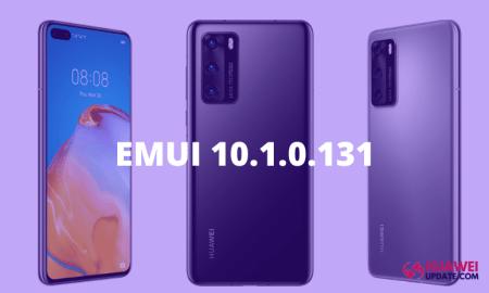 Huawei P40 EMUI 10.1.0.131